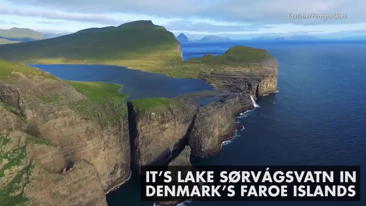 Denmark Lake Sits On Top Of The Ocean The Weather Channel