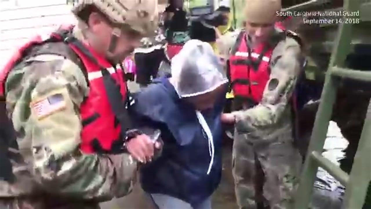 Florence: Rescates de la Guardia Nacional