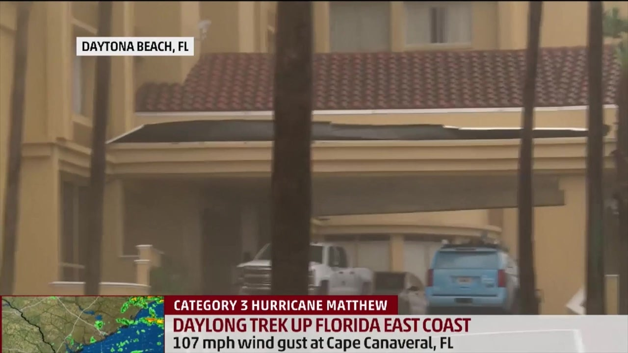 Winds Whip Through Empty Daytona Streets The Weather Channel