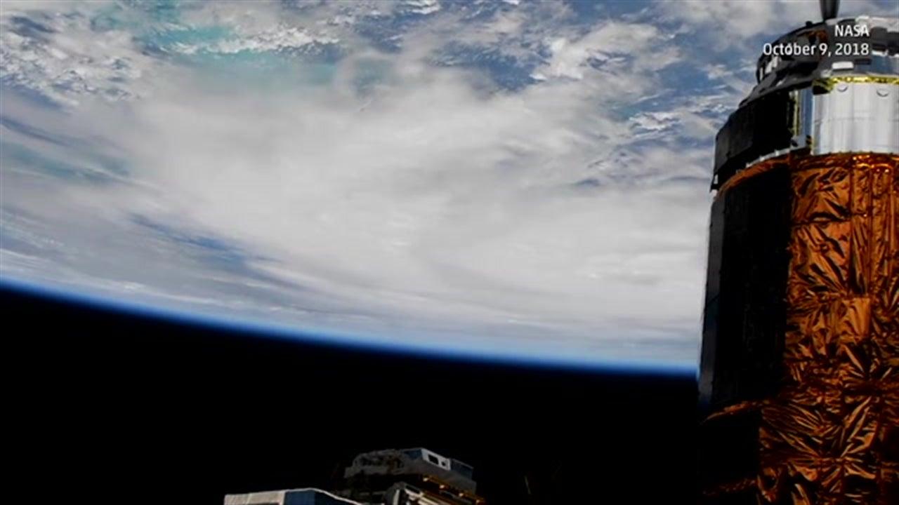 Huracán Michael desde el espacio