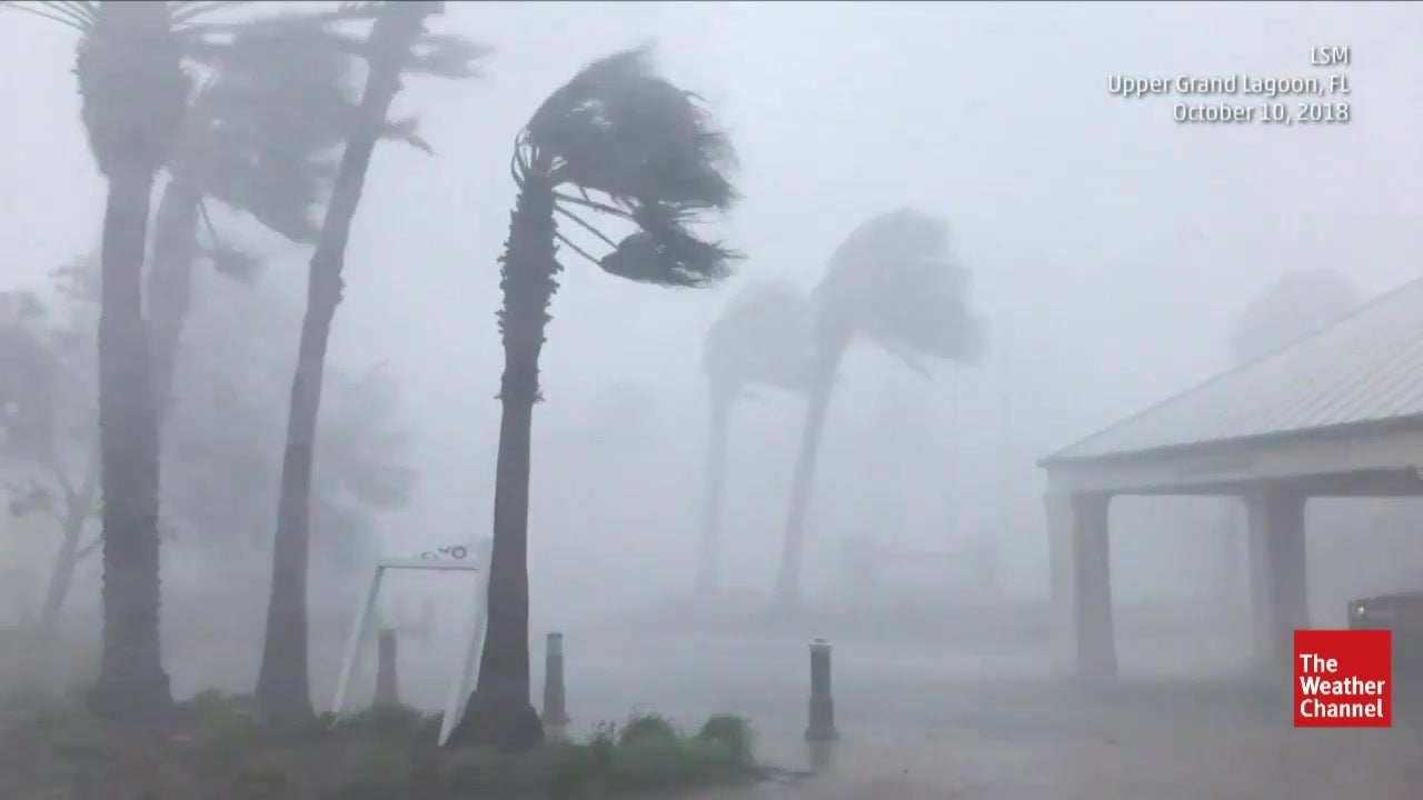 Michael Continues to Wreak Havoc Across SE Coast of US