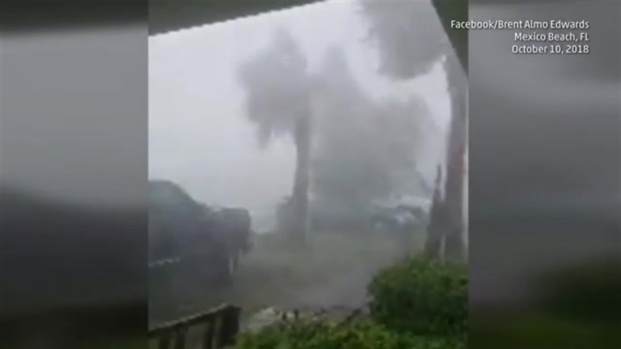 Impactos del Huracán Michael en Mexico Beach, FL