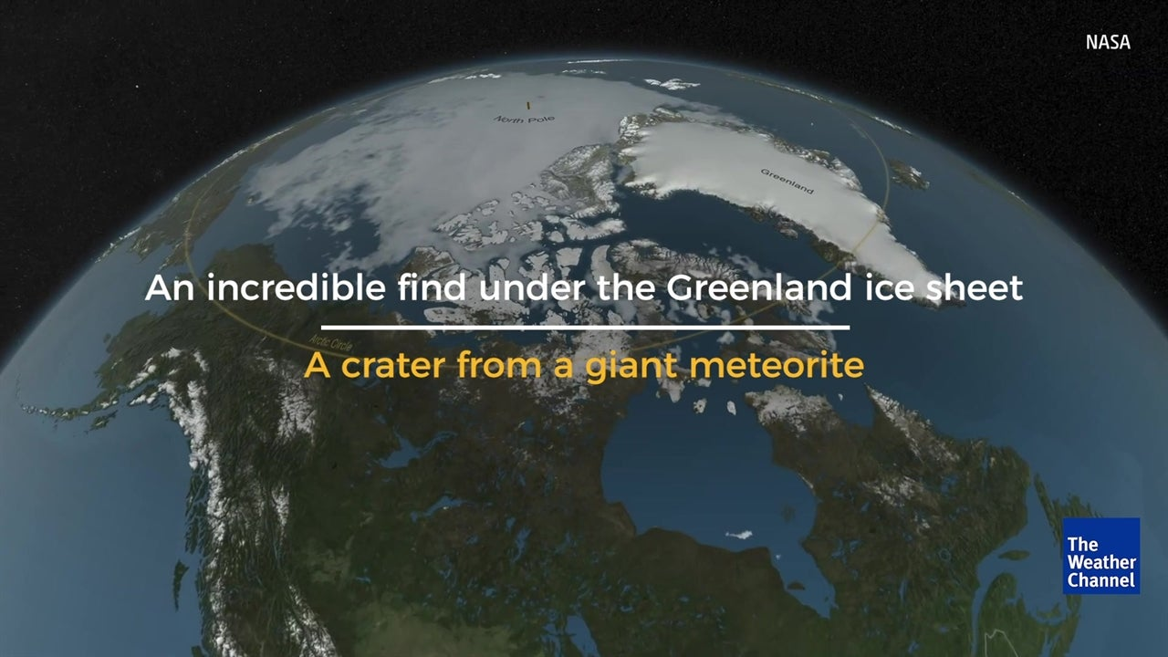 Discover incredible find under Greenland ice