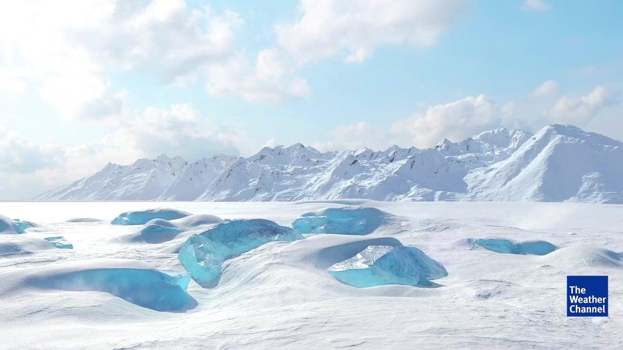 Scientists Discover Strange Hot Spot Below Antarctica Ice