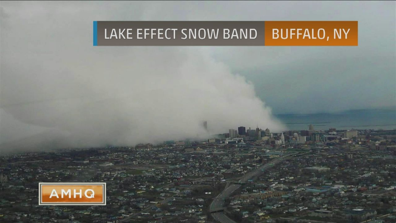 what is lake effect snow