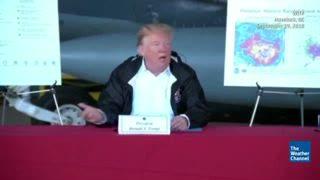 New Evacuations Ordered in South Carolina as President Trump Surveys Florence Damage