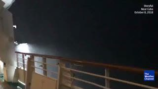 Cruise Ship Passenger Captures Video Of Stormy Seas From