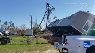 Jeep Club Flips Panama City Home Toppled by Hurricane Michael