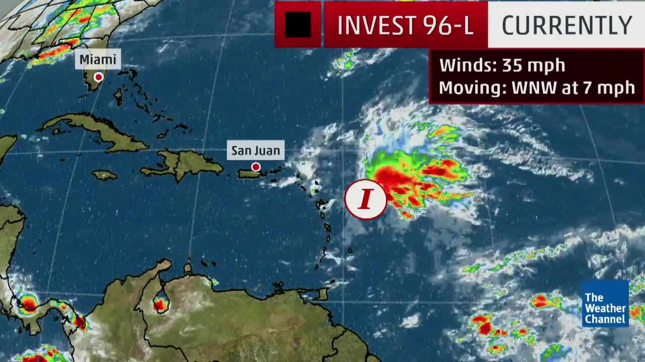 An Area to Watch in the Atlantic with a High Chance of Development