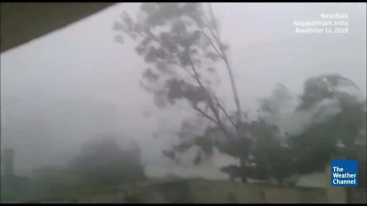 More than 30 Dead From Tropical Cyclone Gaja