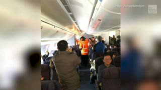 Passengers Trapped on Freezing Plane for 14 Hours