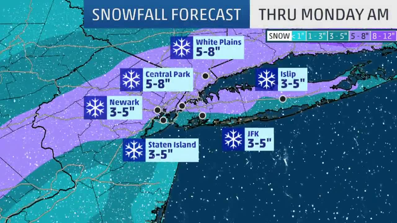 New York City Under Winter Storm Warning The Weather Channel