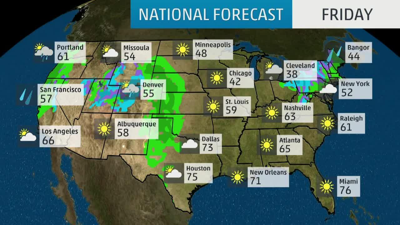Usa National Forecast Weather Com