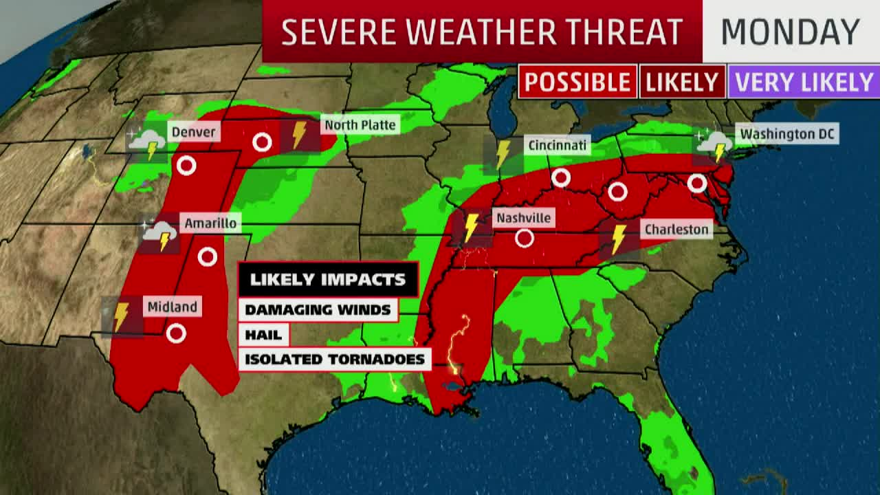 Multiple Days of Severe Weather Ahead