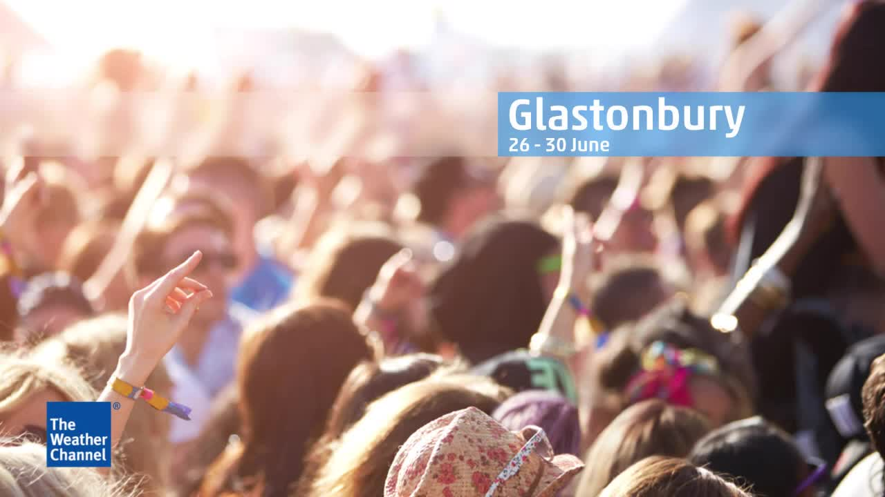 Glastonbury Festival is set to be sunny with high temperatures, check the forecast here.