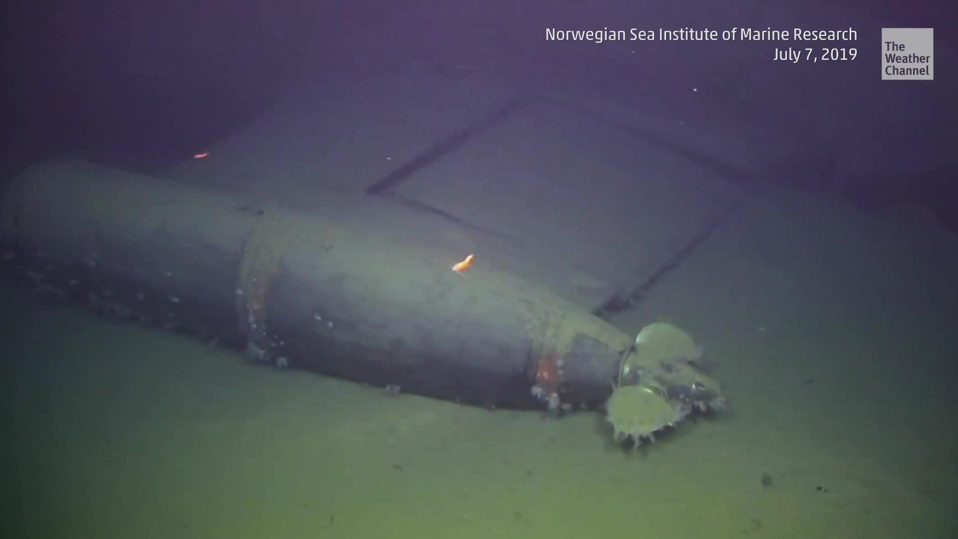 Una cantidad inusualmente alta de radiación se ha estado escapando de un submarino soviético hundido, de acuerdo con el Institute of Marine Research.