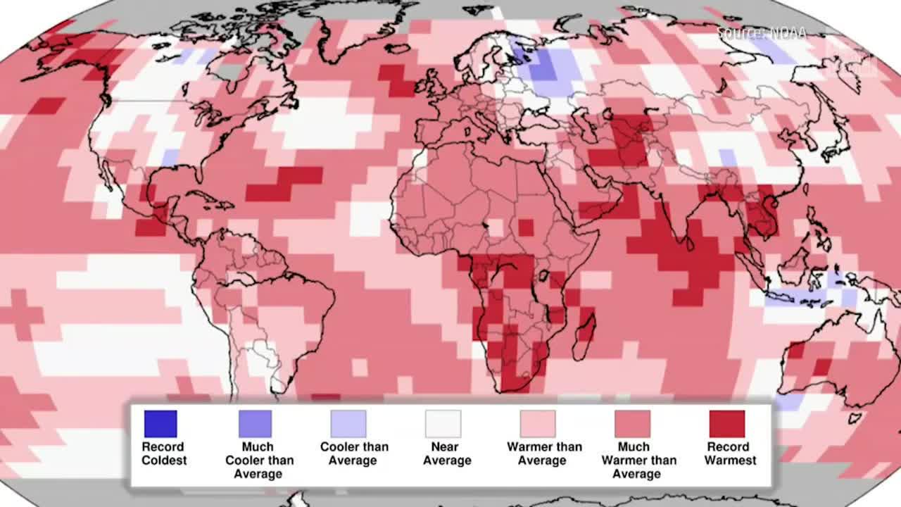 July Was Warmest Month in History
