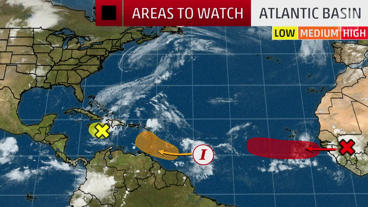 Tropical Development We're Watching in the Atlantic