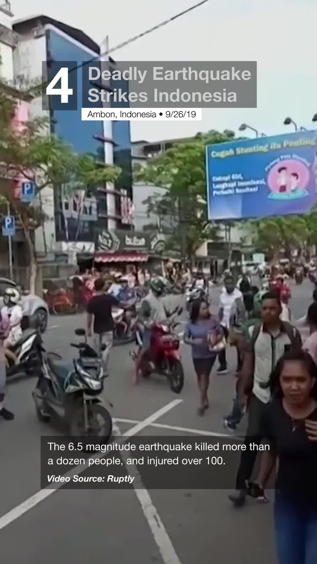 Deadly Earthquake Strikes Indonesia