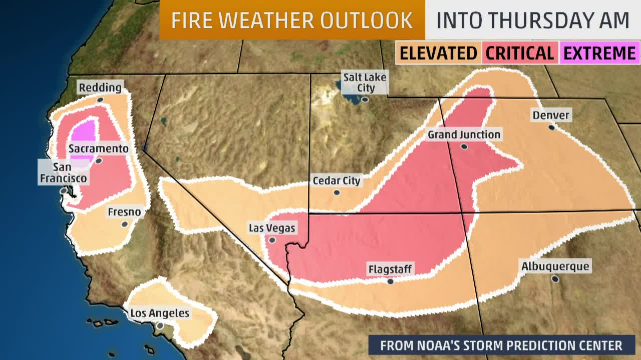 Massive Planned Power Outage In California Prompted By Fire Risks Videos From The Weather Channel Weather Com