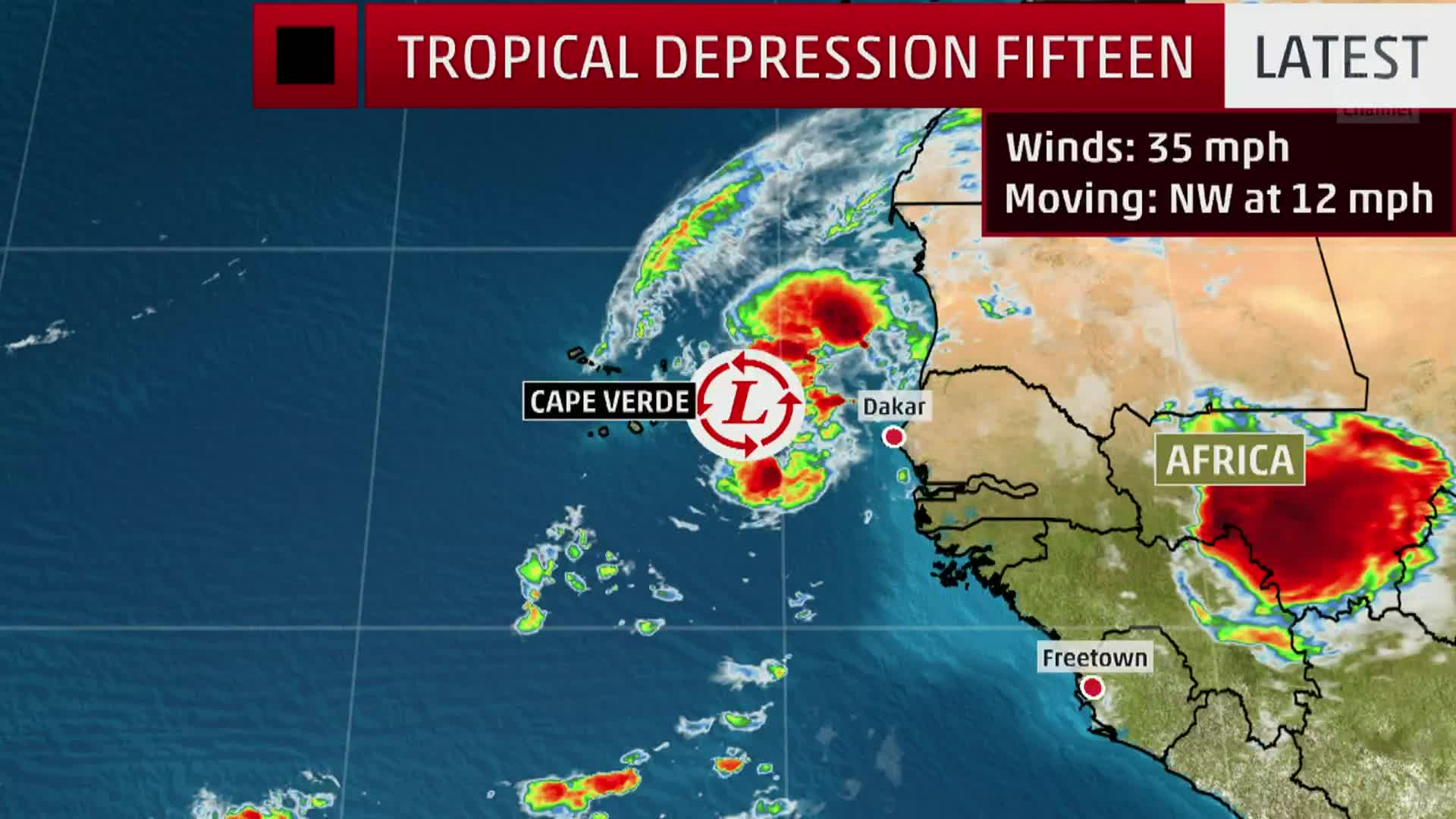 If it becomes a tropical storm it will be named Nestor.