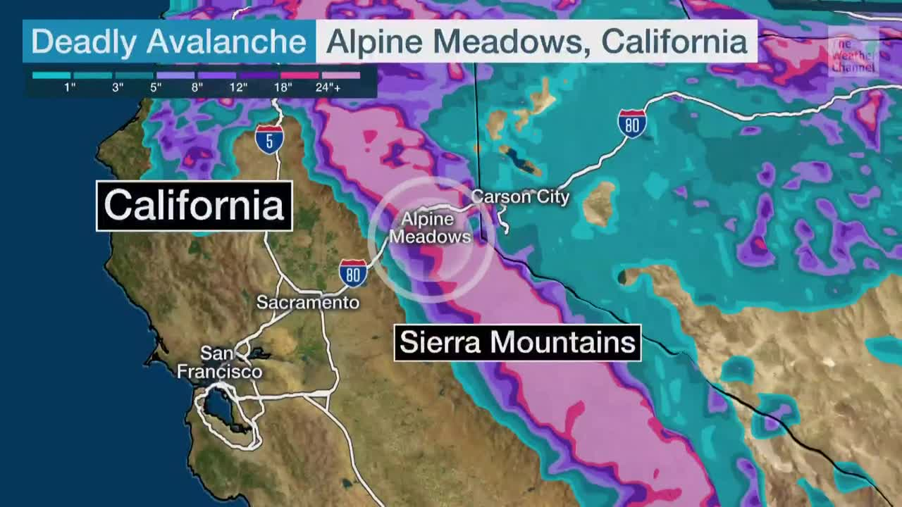 Deadly Avalanche at Lake Tahoe Ski Resort