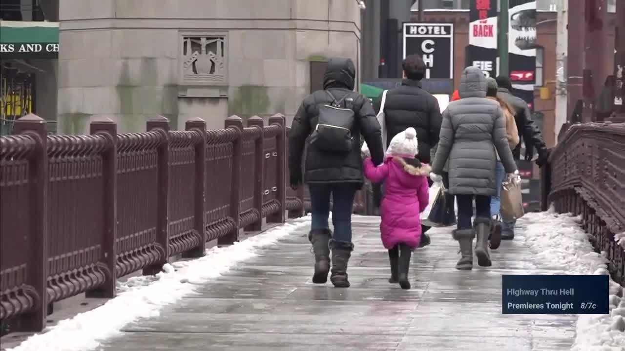 Cold and Windy Weekend in Chicago