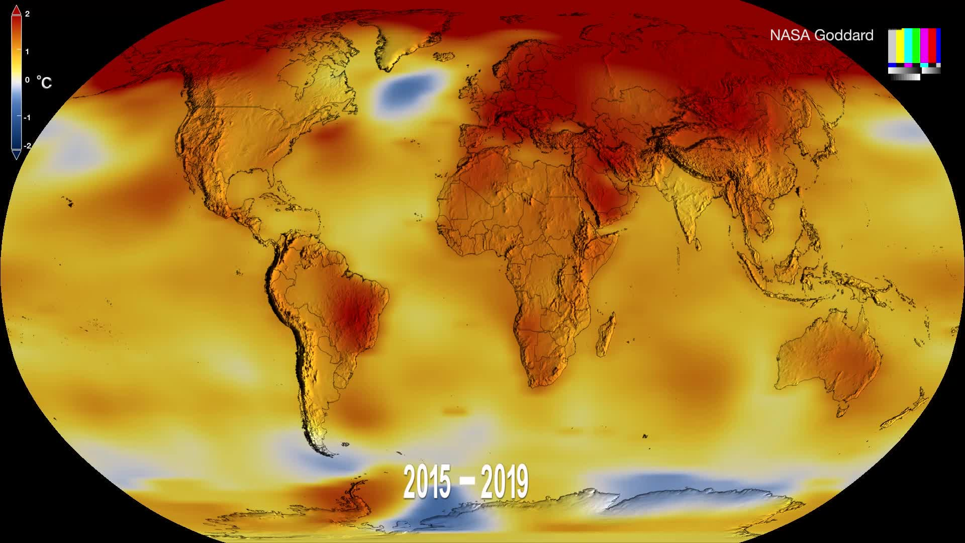 A new NASA video shows how global warming is accelerating.