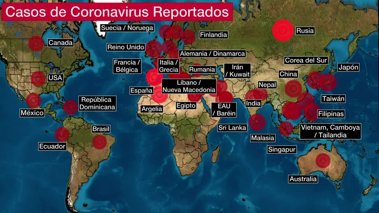 Coronavirus Se Extiende En America The Weather Channel