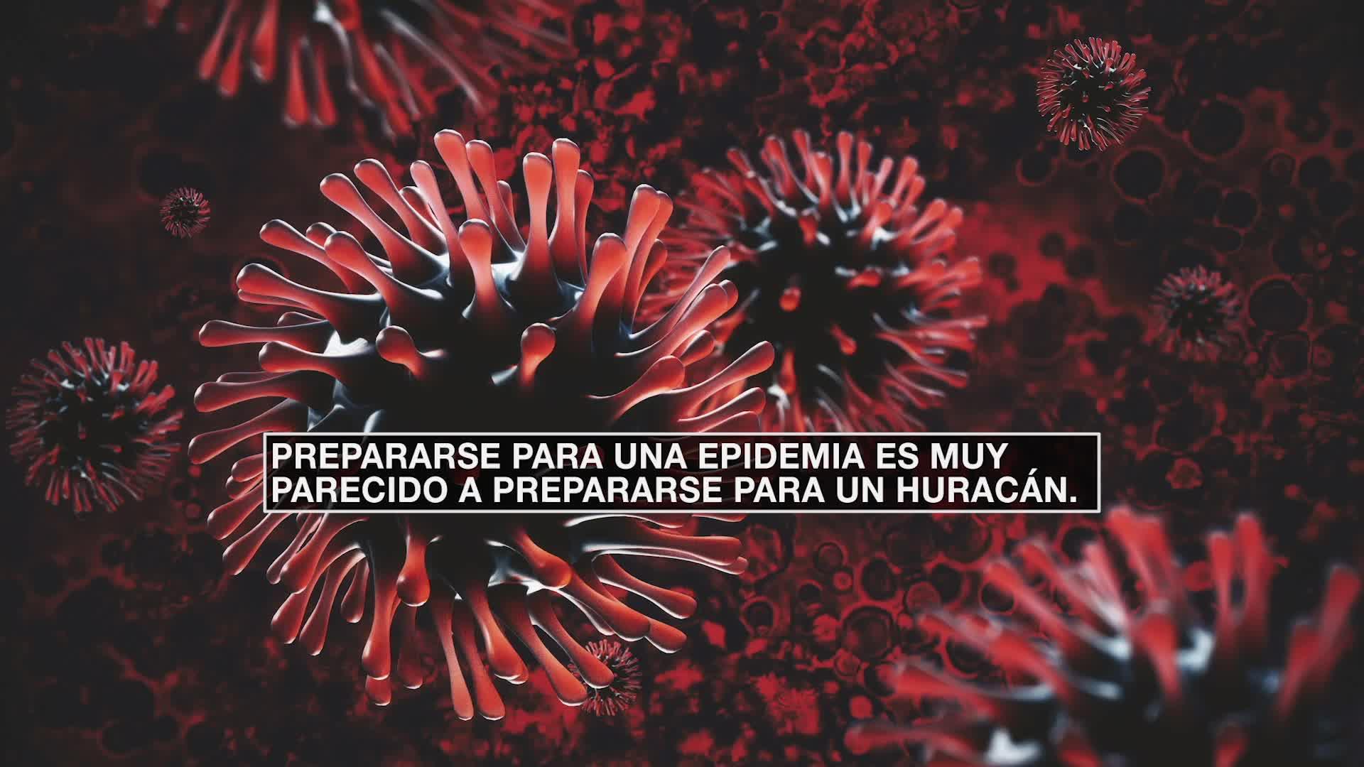 ¿En qué se parece una pandemia a un huracán?