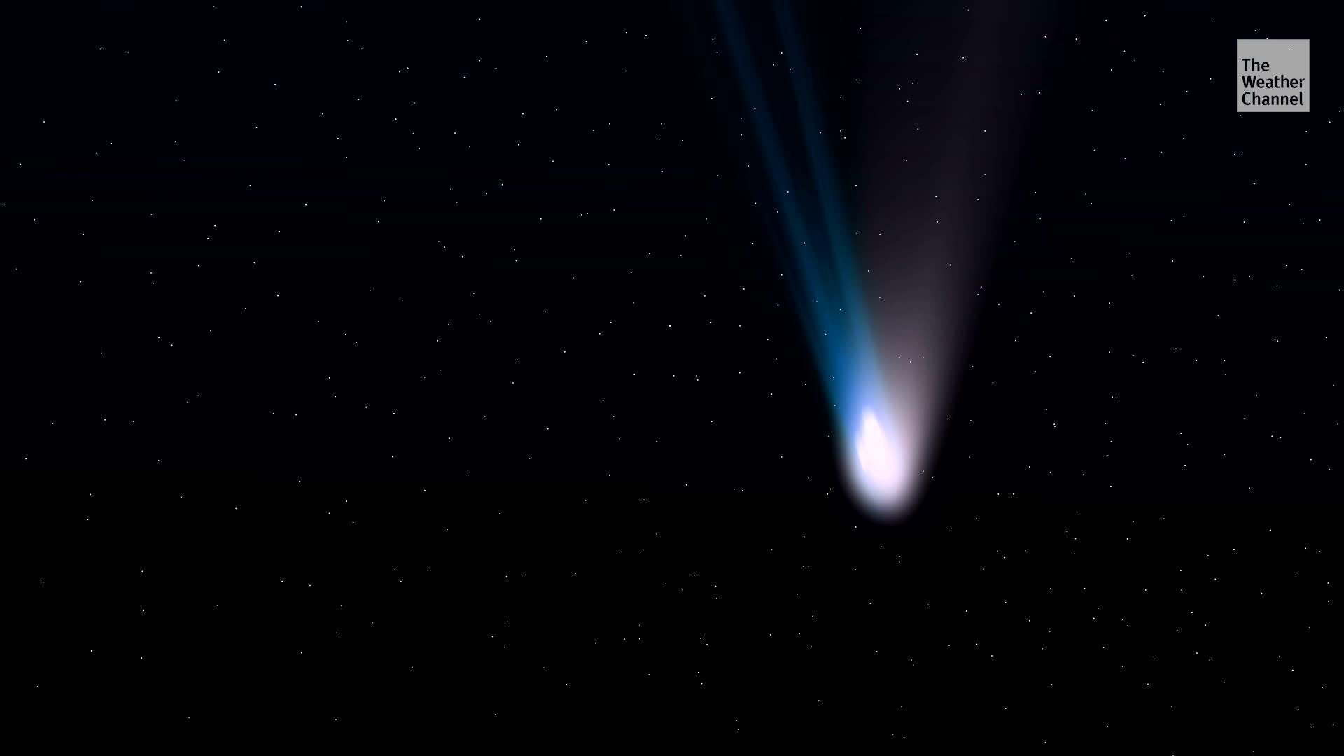 The comet could peak by the end of May.