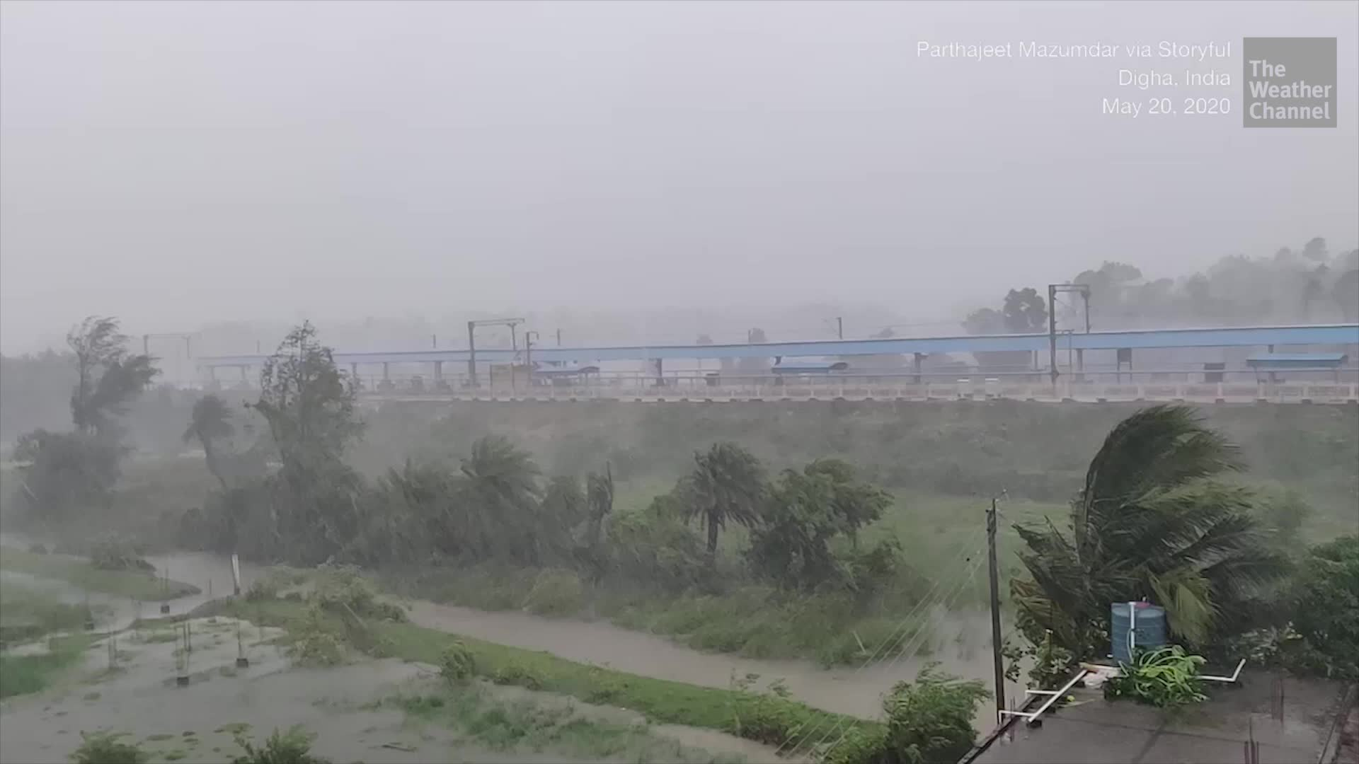 Raw Footage: Cyclone Amphan Unleashing Its Fury Across Northeast India