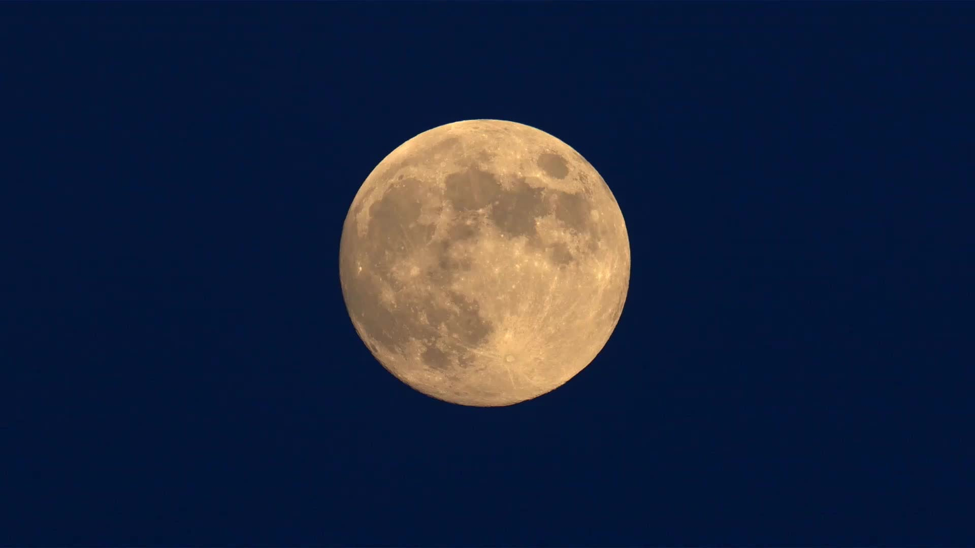 The full moon will appear full three days this week.