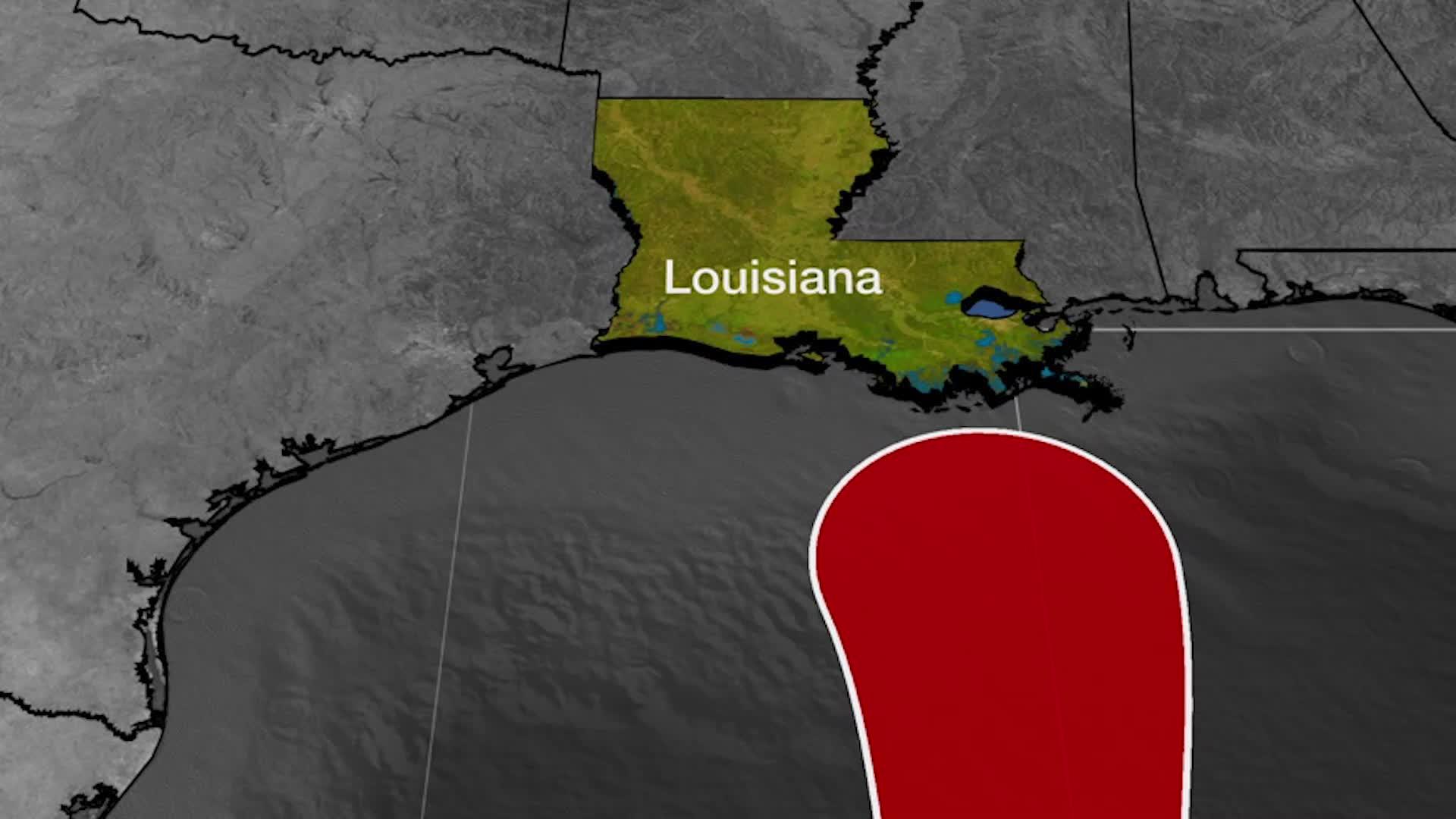 Tormenta Cristóbal apunta a Louisiana