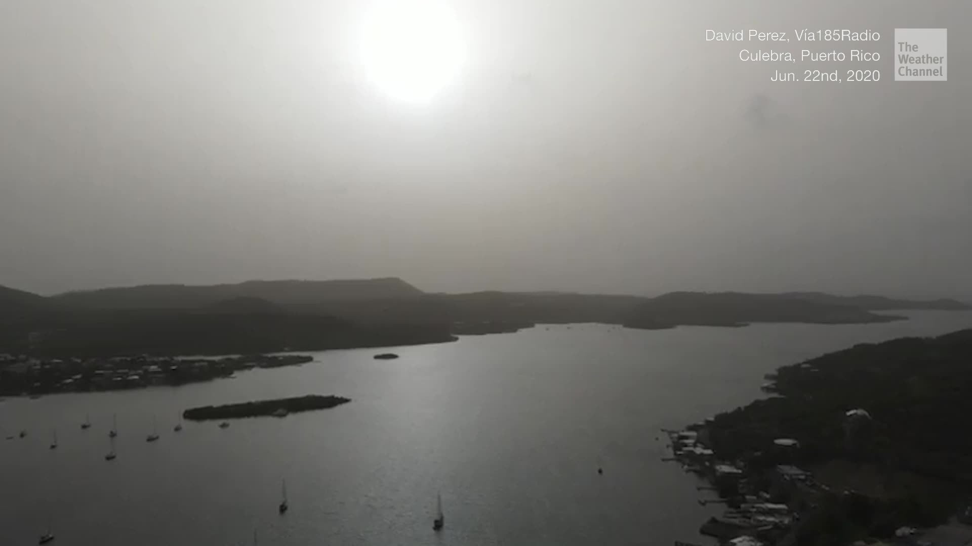 Polvo del Sahara se dirige al Golfo