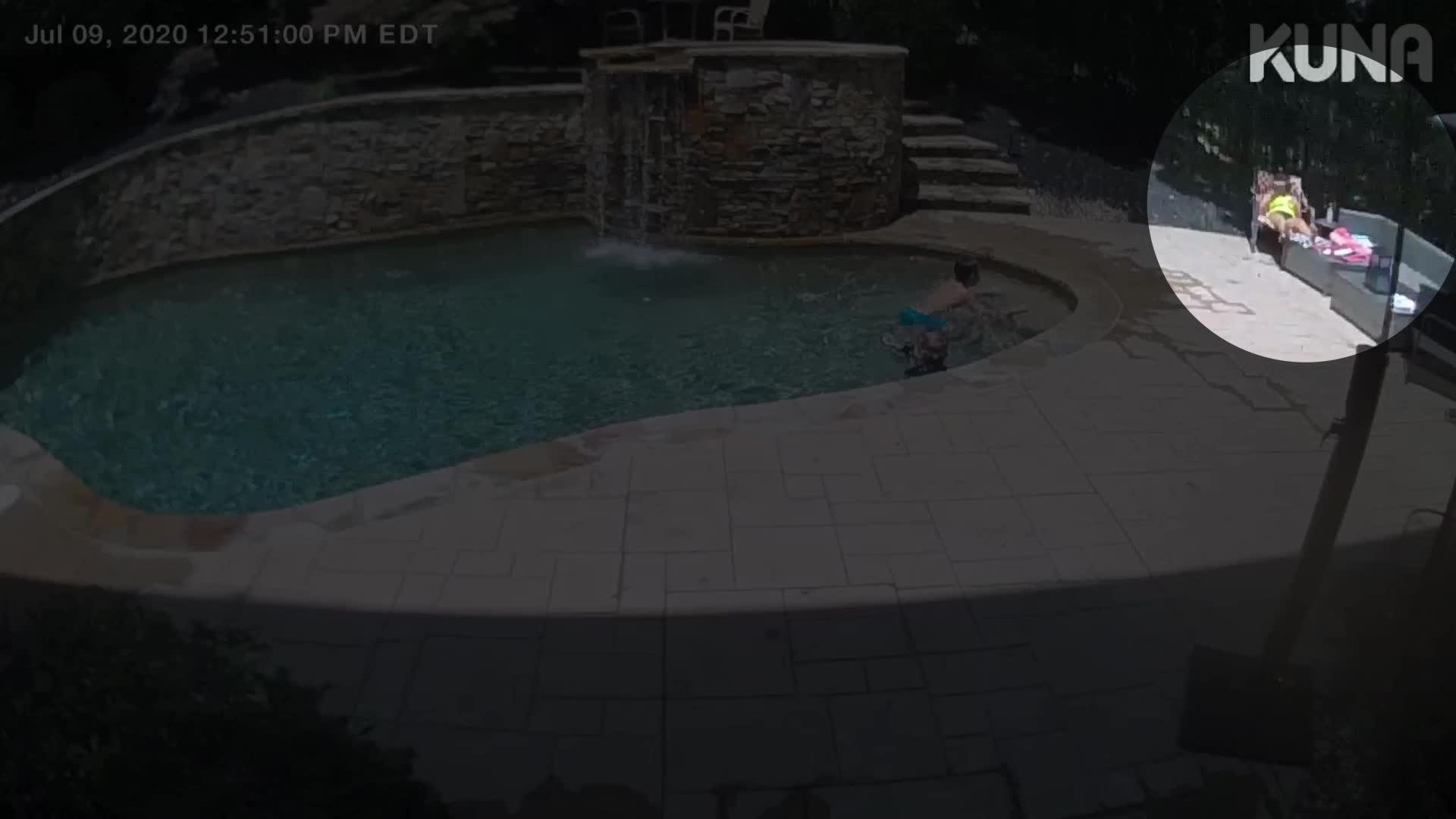 Woman Narrowly Escapes Falling Tree