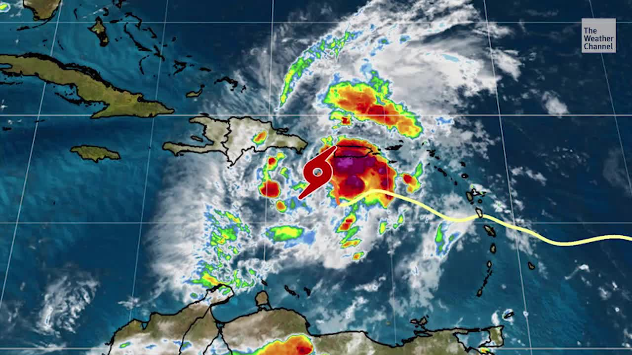 Tropical Storm Isaias Headed for Hispaniola - Videos from The Weather Channel | weather.com