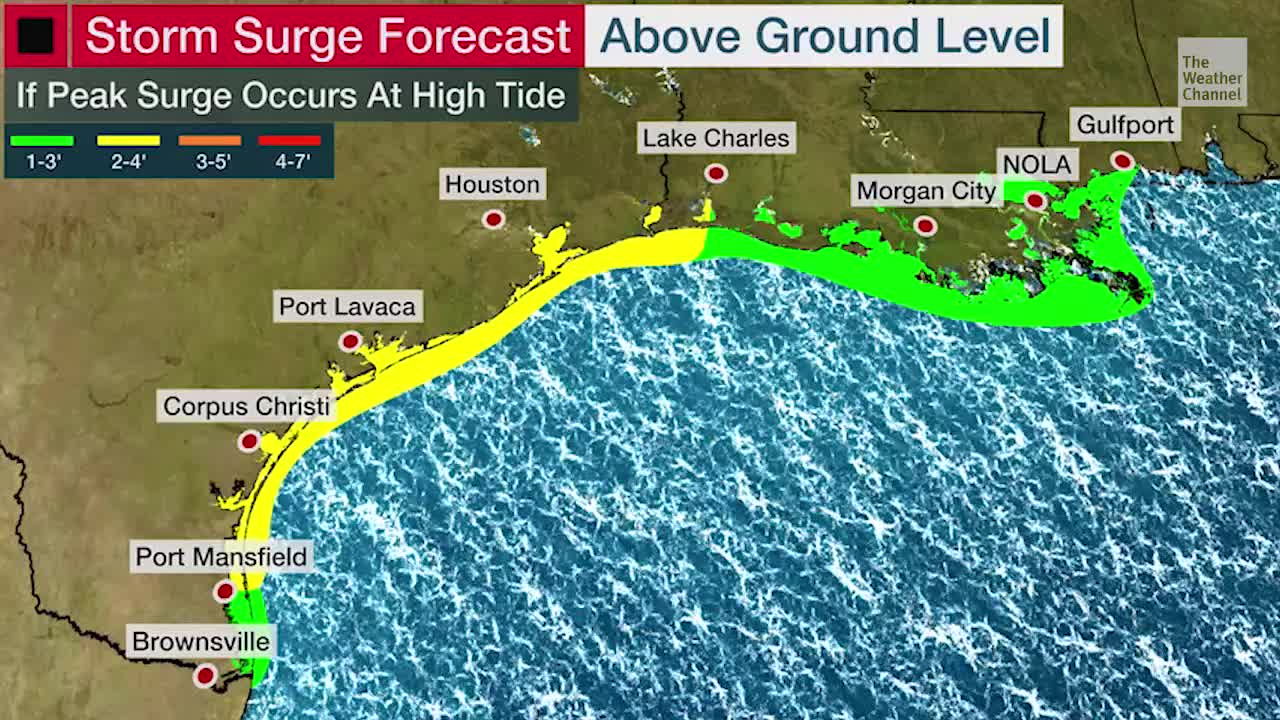 Beta Brings Coastal Flooding and Storm Surge Concerns