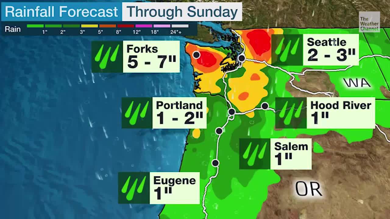 Northwest to Get Needed Rain