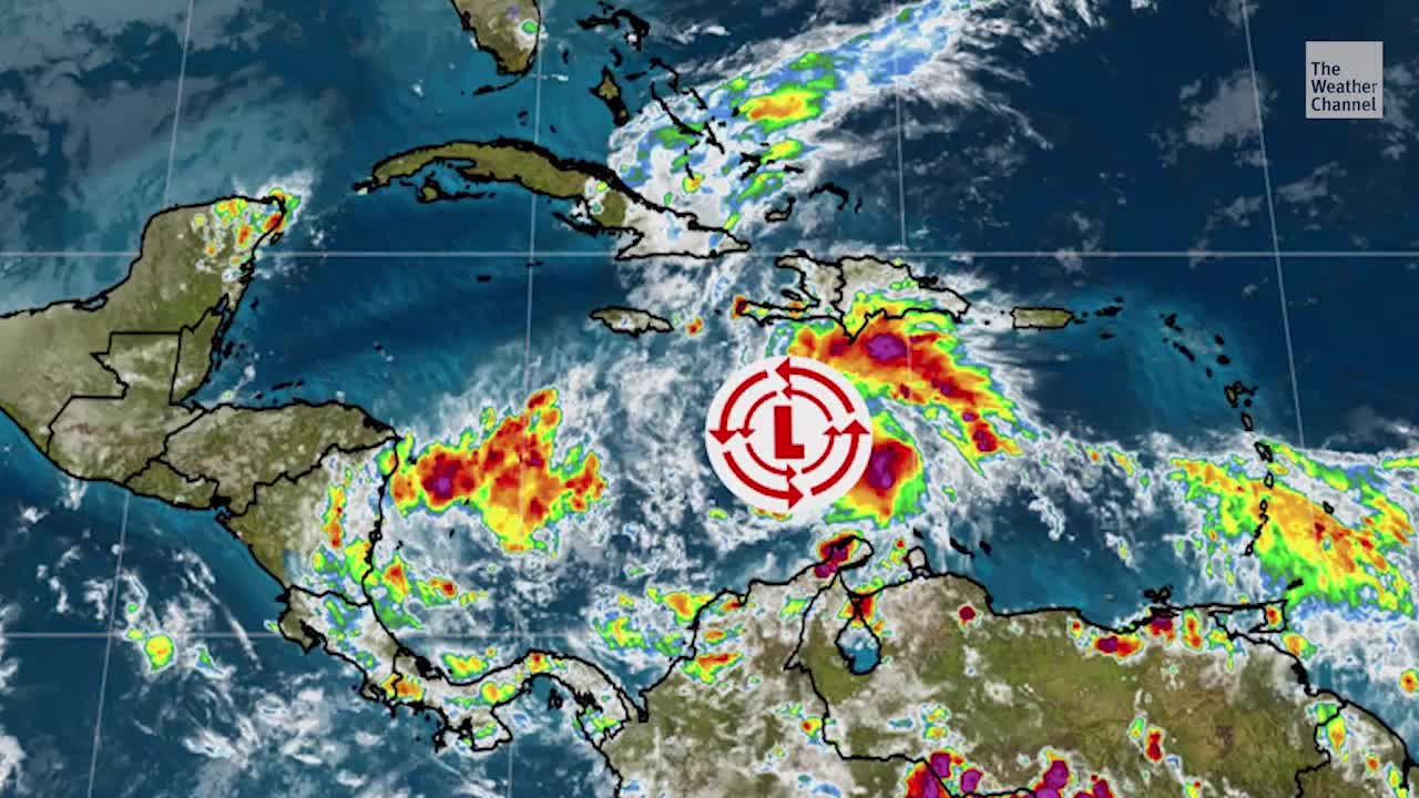 Tropical Depression Has Formed in the Caribbean
