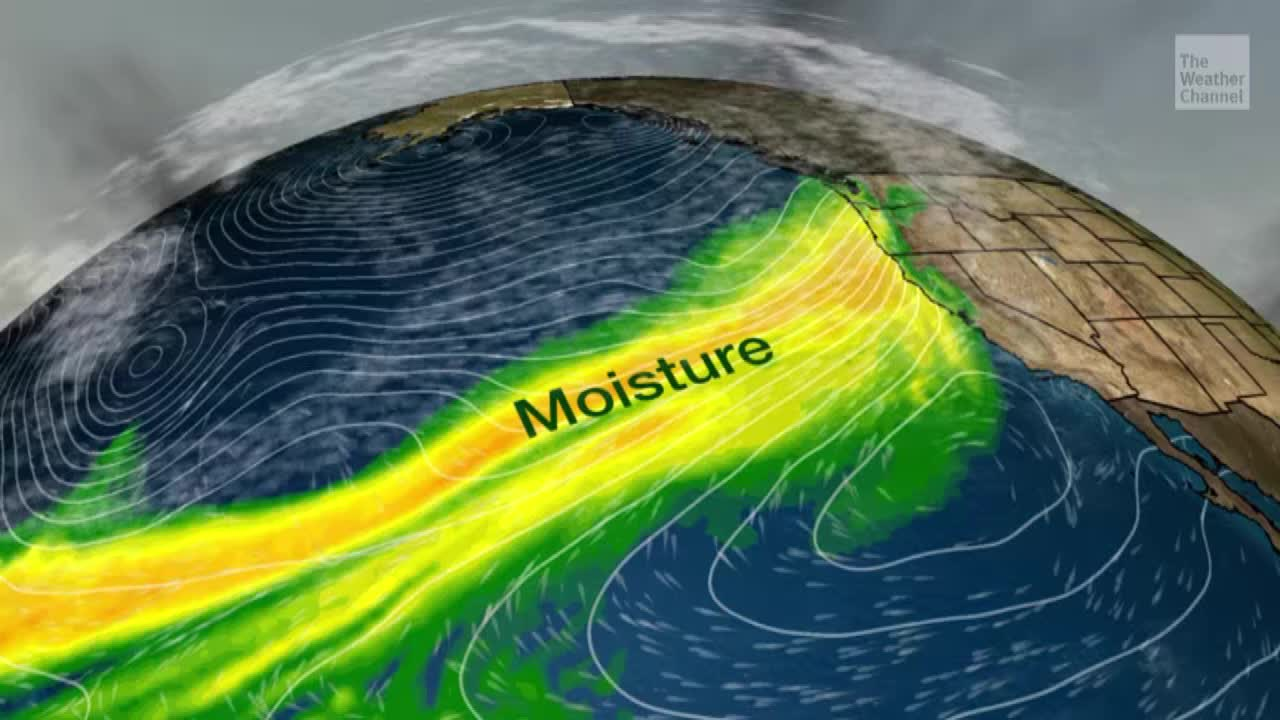 Atmospheric River to Bring Flooding Rain and Snow - Videos from The Weather Channel | weather.com