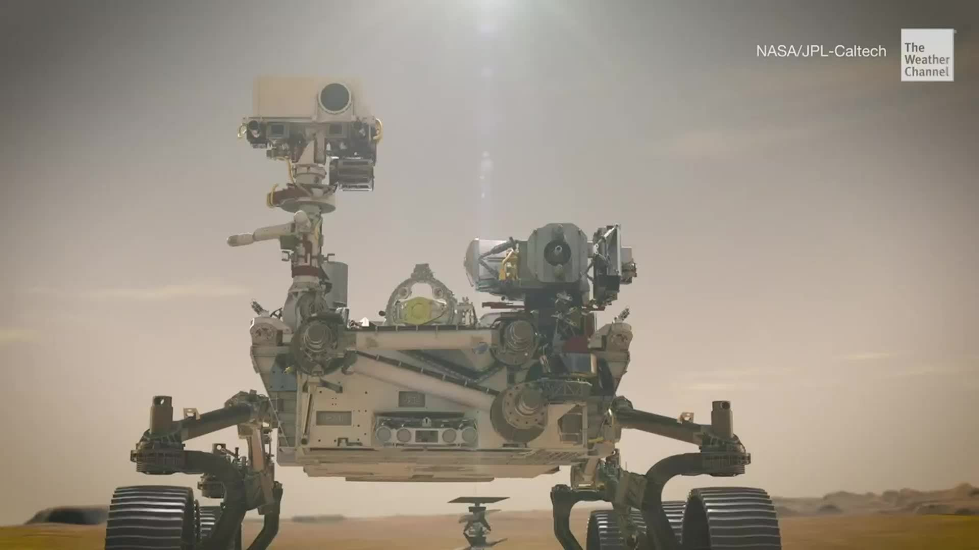 Mini Helicopter Could Be First Vehicle to Take Flight on Mars! - Videos from The Weather Channel   weather.com