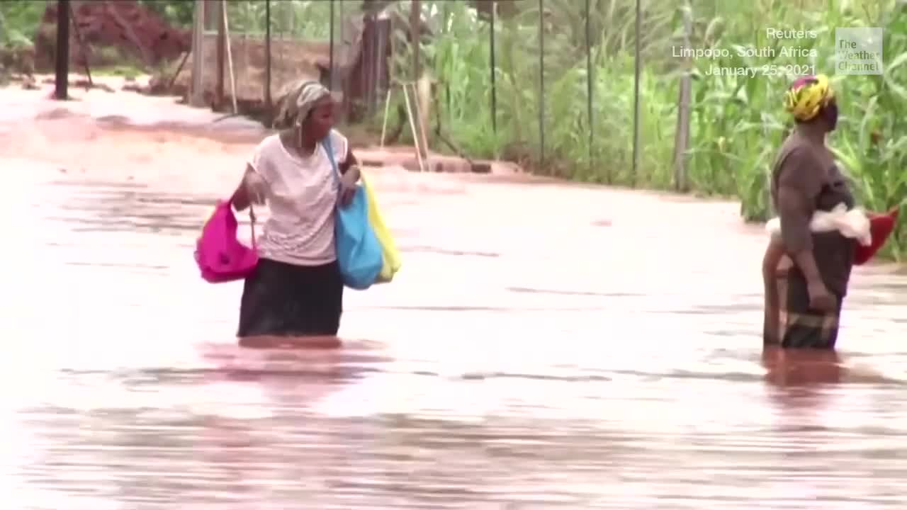 Tropical Cyclone Eloise Leaves Nearly 7,000 Homeless in Mozambique - Videos from The Weather Channel | weather.com