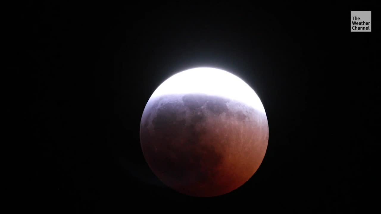 Supermoon Total Lunar Eclipse Coming Soon - Videos from The Weather Channel | weather.com