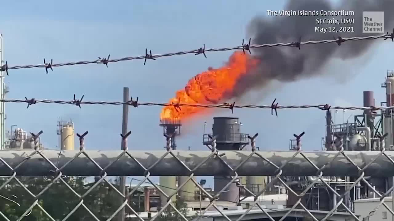 Refinery Spews Oil Over Neighborhood – Again - Videos from The Weather Channel | weather.com