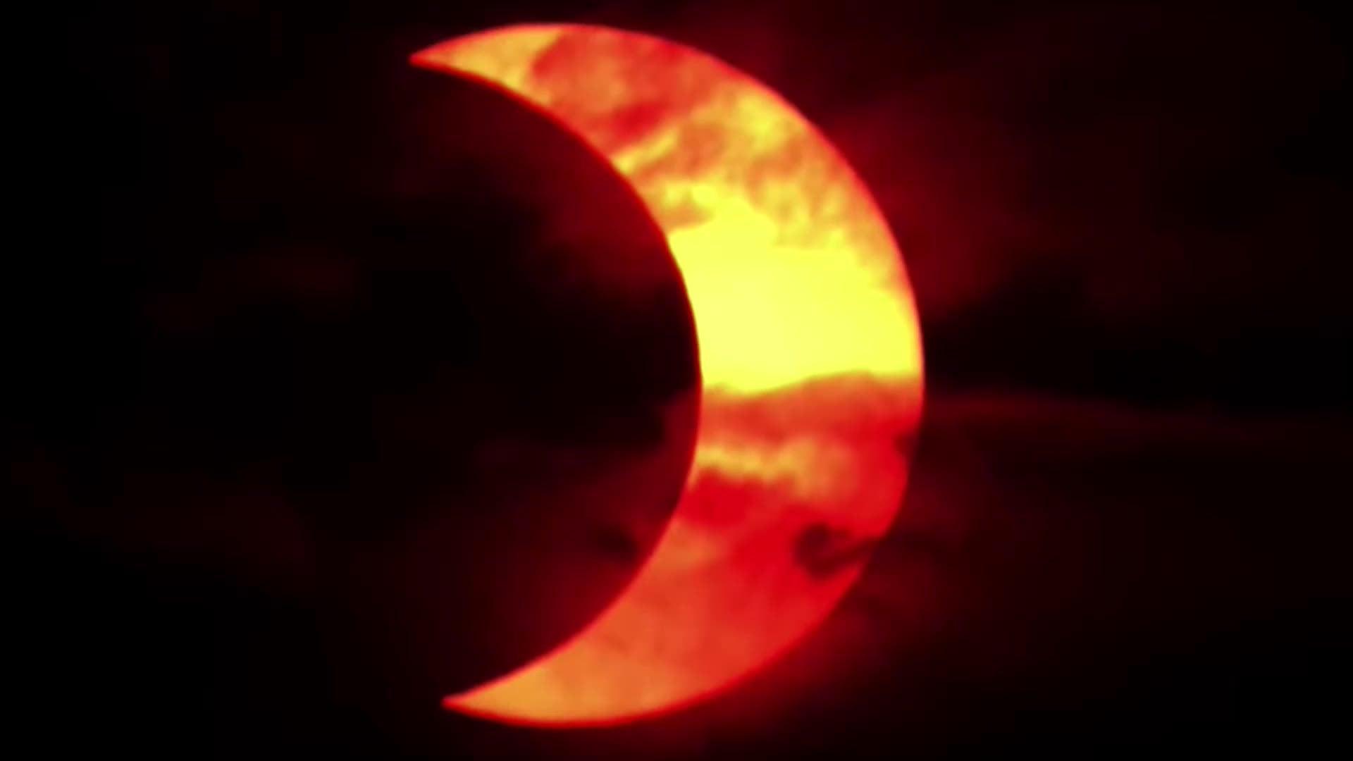 Annular Solar Eclipse Delights ...