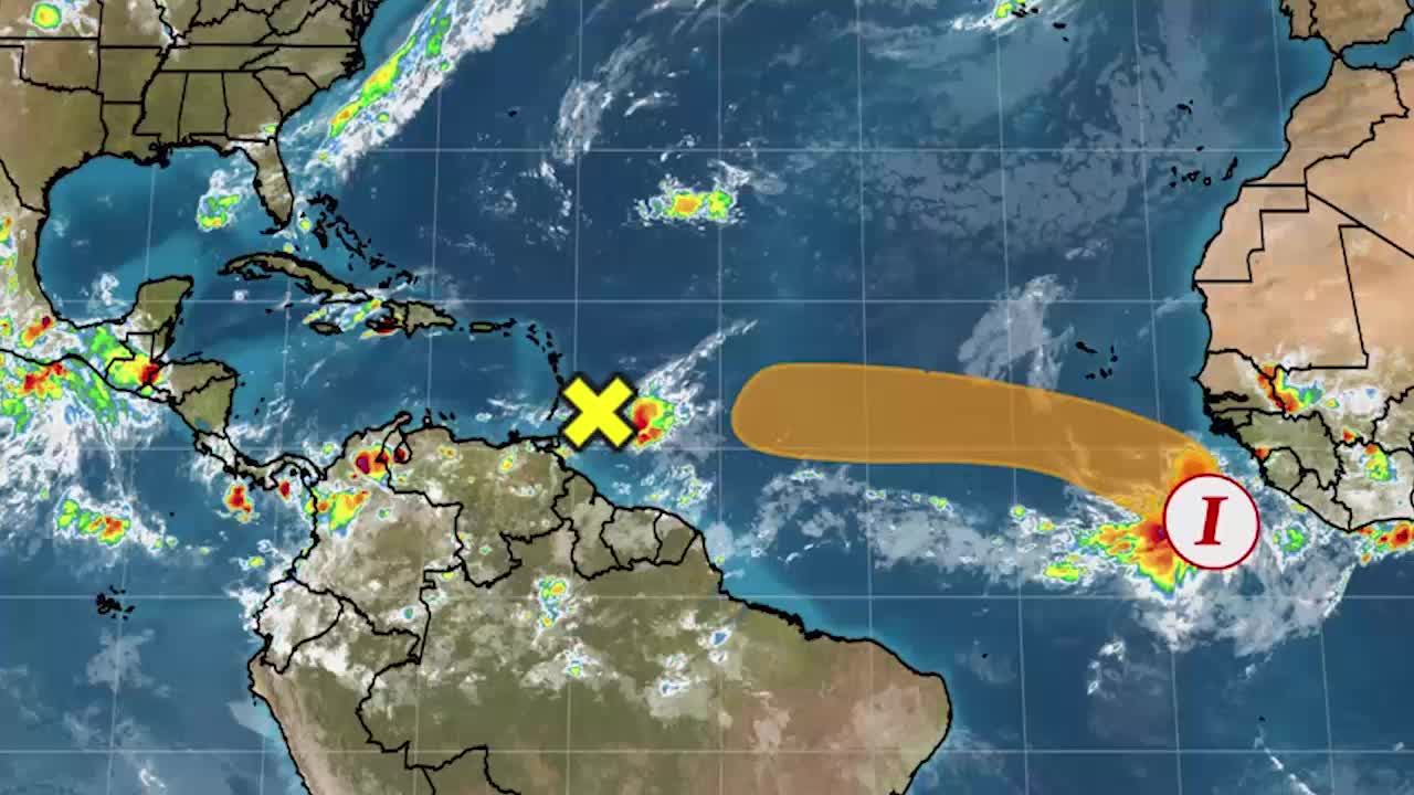 Watching a New Area in the Atlantic for Tropical Development