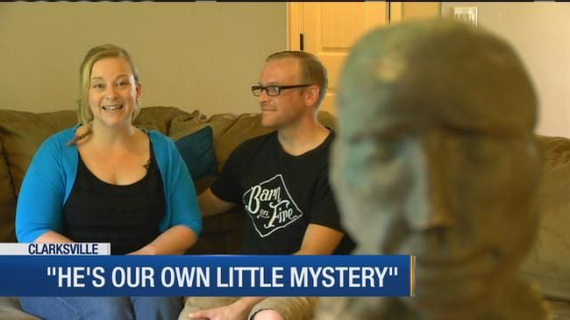 Family seeks answers on strange statue head found during eclipse