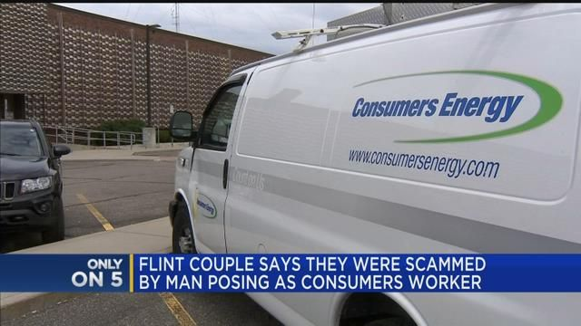 Flint couple says they were scammed by man posing as Consumers Energy