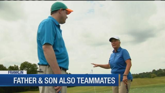 Franklin father-son to play in Special Olympics national golf tourney